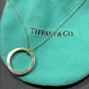 Tiffany & Co. Circle Pendant Necklace